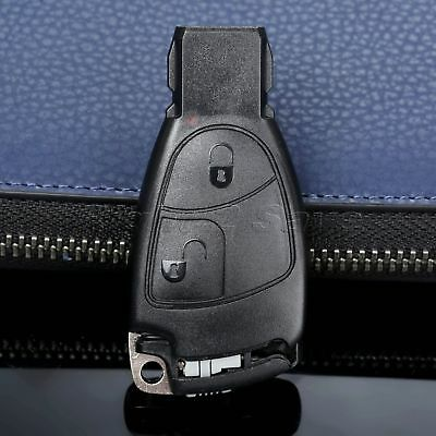Remote 2 Buttons Key Fob Case Shell For MERCEDES BENZ B C E S Class CLS CLK ML