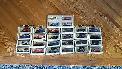 "27 Rare Models LLEDO's ""DAYS GONE"" CHEVRON COMMEMORATIVE REPLICA TRUCK SERIES"