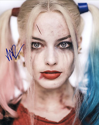 Suicide Squad Film Promotional Hand Signed Margot Robbie 10x8