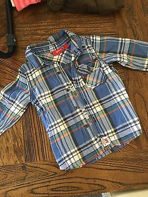 Boys Shirt by Sprout size 1 EUC