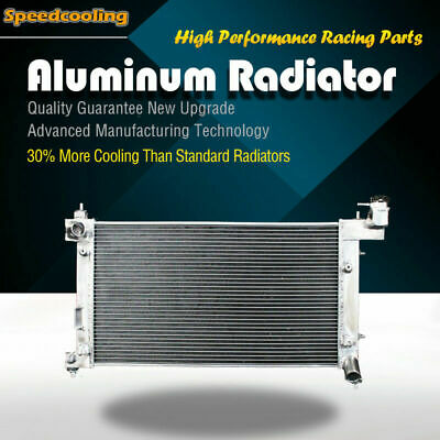 2428 2Row Aluminum Radiator For Pontiac Toyota Vibe Corolla Matrix 1.8 L4 03-08