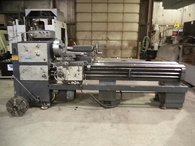 "Polamco Mdl TUR-63, 24"" X 80"" Geared Head Engine Lathe, w/ Taper Attachment"