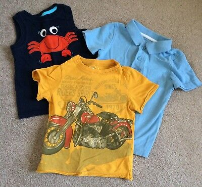 Lot Of Boys Tops Size 2T