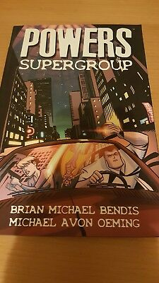 powers - supergroup graphic novel