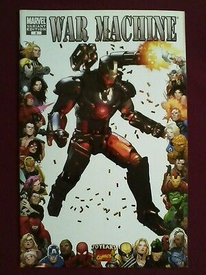 War Machine #9 (2009) Marvel Variant