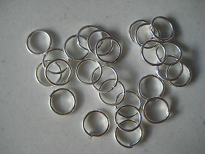 5mm SILVER TONE JUMP RINGS - PACK OF 50
