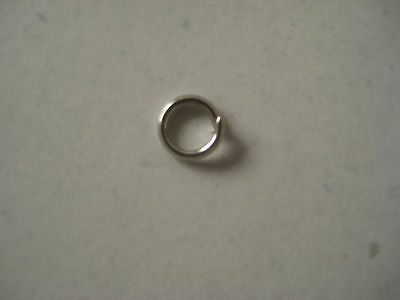 3mm SILVER TONE JUMP RINGS - PACK OF 50