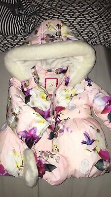 Girls Ted Baker Coat 12-18 Months