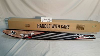 "HO Triumph 65"" water ski with fin"