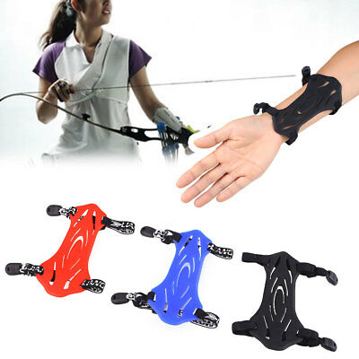 Archery Armguard Safety Hunting Shooting Arm Guard W/2-Straps Protector