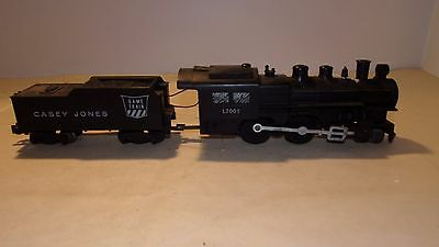 American Flyer L2001 4-4-0 Locomotive & Casey Jones Tender S Gauge