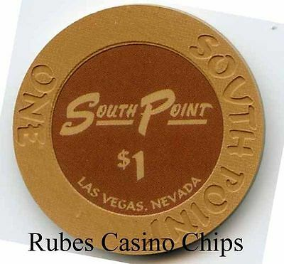 1.00 Chip from the South Point Casino in Las Vegas Nevada
