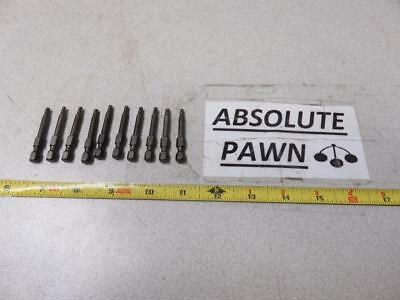 10 Pc Amco Torx Plus Bit 15Ip Usa Made Used But Great Condition