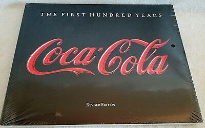 Coca-Cola The First Hundred Years 1986 by Anne Hoy **FACTORY SEALED** MINT!!