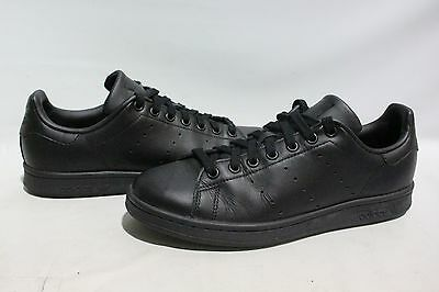 Adidas Men's Stan Smith Original Athletic Black Sneakers Size 8.5