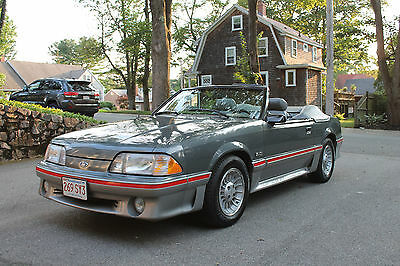 1987 Ford Mustang GT 1987 Ford Mustang GT Convertible