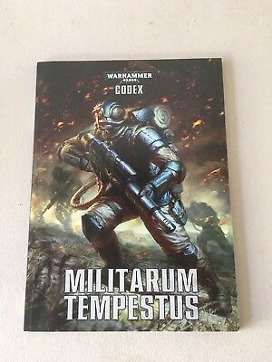 Warhammer 40,000 Codex Militarum Tempestus 7th Ed