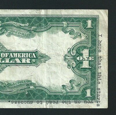 $1 1923 Silver Certificate <<< Horse Blanket >>> 2 Of 2