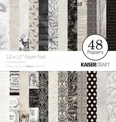 "Kaisercraft - Christmas Edition - 12"" X 12"" Paper Pad - ( PP232 )"