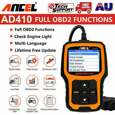 Ancel OBD2 EOBD Car Fault Code Reader Scanner Diagnostic Auto Engine Scan Tool