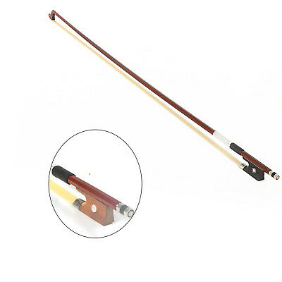 NS New Professional 4/4 Violin Practice Bow Black Handles Arbor White Copper
