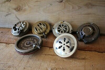 5 X Vintage Antique Gramophone Sound Box Reproducer Head PIANINA HMV Columbia