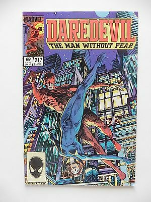 Daredevil #217 VF (Apr 1985, Marvel)