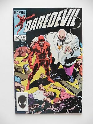 Daredevil #212 VF (Nov 1984, Marvel)