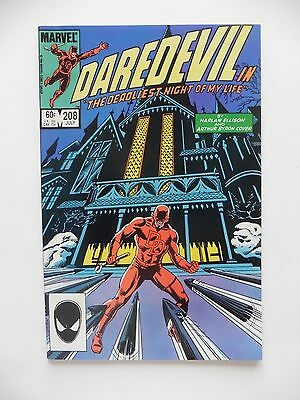 Daredevil #208 VF (Jul 1984, Marvel)