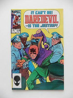 Daredevil #218 VF (May 1985, Marvel)