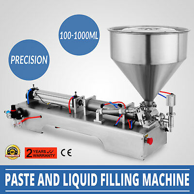 100-1000ml Liquid Filling Filler Machine Pneumatic  Magnetic Paste