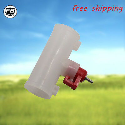 5 PCS Poultry Water Drinking Cups- Nipple Automatic Water Drinking for chicken