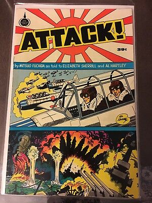 Attack Comic Spire Christian Comics 1975
