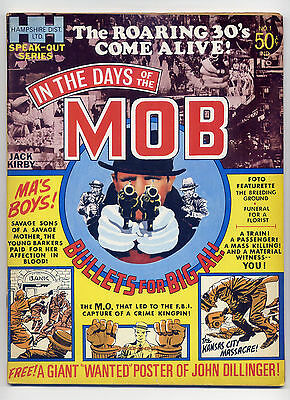 In the Days of the Mob #1 VG+ 1971 Crime  Comic Magazine ~ Fast Shipping ~ Kirby
