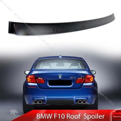 For BMW NEW F10 5-Series A Type 4DR Sedan Roof  Spoiler ABS 2010+