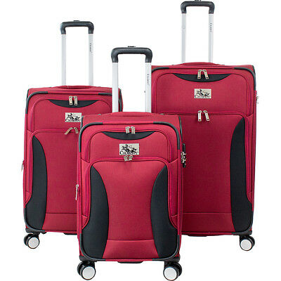 Chariot Madrid 3 Piece Expandable Spinner Luggage Set