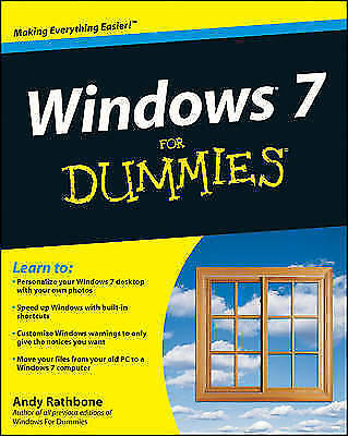 Windows 7 for Dummies (R) by Andy Rathbone (Paperback, 2009)
