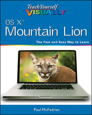 Teach Yourself Visually OS X Mountain Lion by Paul McFedries (Paperback, 2012)