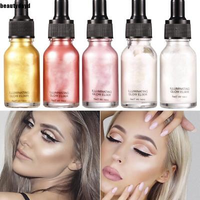 Makeup Highlighter Liquid Cosmetic Lady Face Contour Brightener Shimmer e