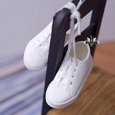 1/4 BJD Shoes MSD Dollfie white Sneaker Casual shoes MID DOD AOD SOOM Dollmore