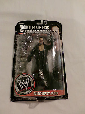 """Wwe Collectibles """"undertaker"""" Bnib Ruthless Aggression Series 32"""