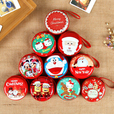 1pcs CHRISTMAS HOLIDAY ROUND  Nesting Gift Boxes SELECT: Size 70*70*35mm