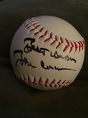 best wishes Bill Clinton hand signed autographed inscripted rawings baseball