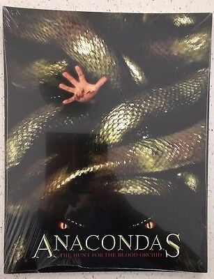 Anacondas - The Hunt For The Blood Orchid lobby card set ( 11x4)  **SEALED**