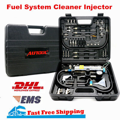 AUTOOL C100 Automotive Non-Dismantle Fuel System Cleaner Injector Kit Tool