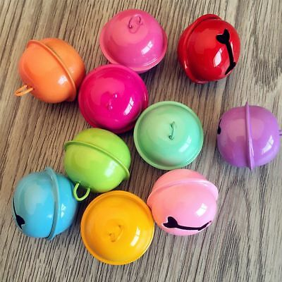 For Bracelet Candy Color Beads Decoration DIY Small Bell Accessories 22mm