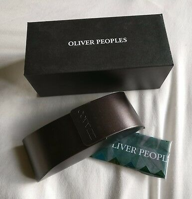 Oliver Peoples Glasses Case - New in Box