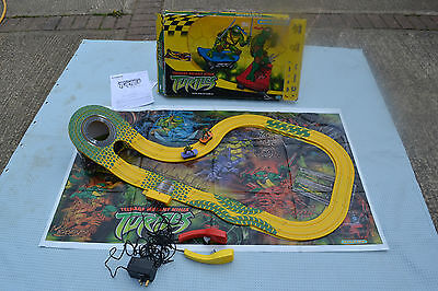 Micro Scalextric Teenage Mutant Ninja Turtles Boxed & Complete