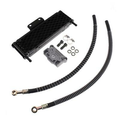 Black Oil Cooler Engine Radiator Kit For 140 150 160cc Motorcycle Pit Bike