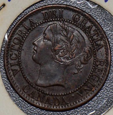 CA0212 Canada 1859 Cent  combine shipping